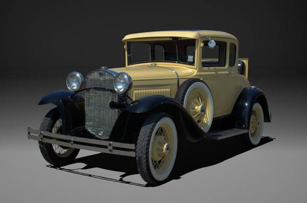Photograph - 1930 Ford Model A Coupe by Tim McCullough