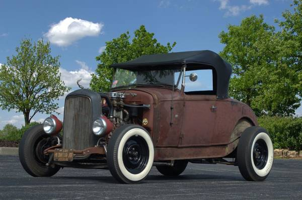 Photograph - 1930 Ford Roadster by Tim McCullough