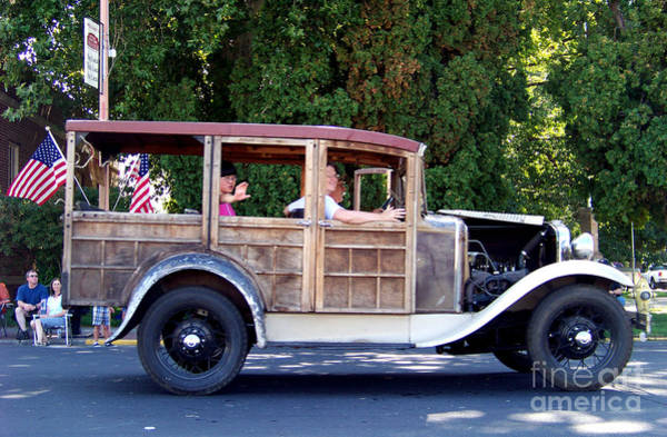 Photograph - 1930 Model A Ford Station Wagon by Charles Robinson
