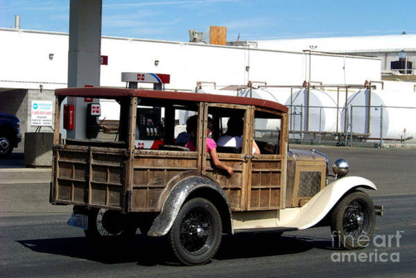 Photograph - 1930 Model A Station Wagon by Charles Robinson