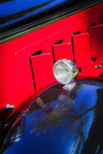 Photograph - 1930 Packard Fender Light by Jill Reger