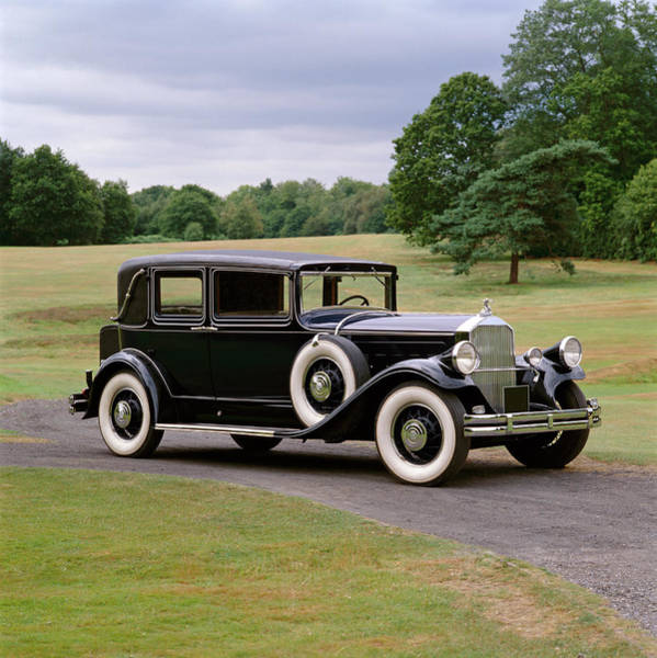 Motoring Photograph - 1930 Pierce Arrow Model 8 Four Door by Panoramic Images