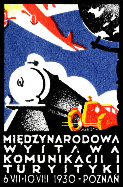 Poland Painting - 1930 Poznan Poland Expo Poster by Historic Image