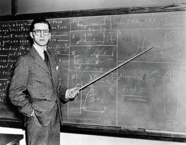 Difficult Photograph - 1930s 1940s Man Teacher Professor by Vintage Images