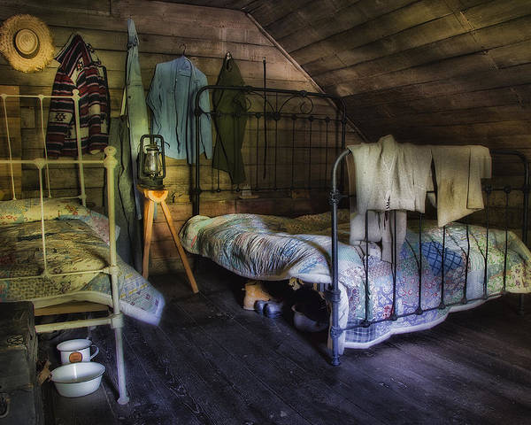 Wall Art - Photograph - 1930's Country Bedroom  by Steve Hurt
