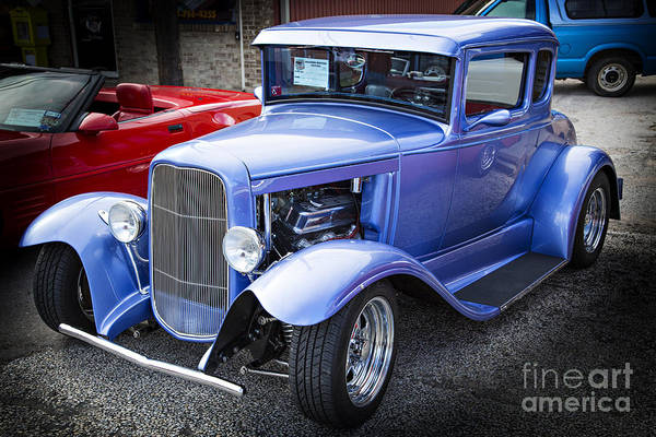 Photograph - 1931 Ford Model A Complete Classic Car In Color 3212.02 by M K Miller