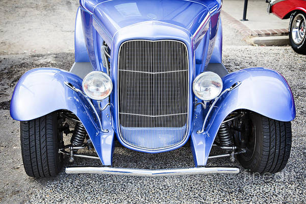 Photograph - 1931 Ford Model A Front End Classic Car In Color 3214.02 by M K Miller