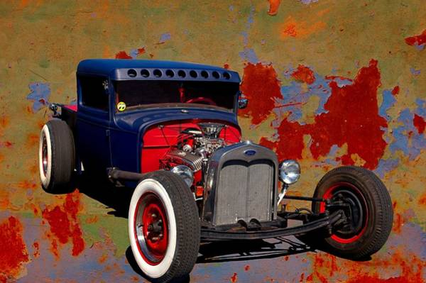 Photograph - 1931 Ford Rat Rod Pickup by Tim McCullough