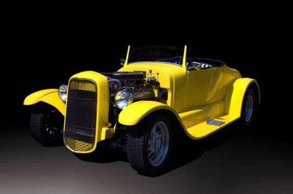 Photograph - 1931 Ford Roadster Hot Rod by Tim McCullough
