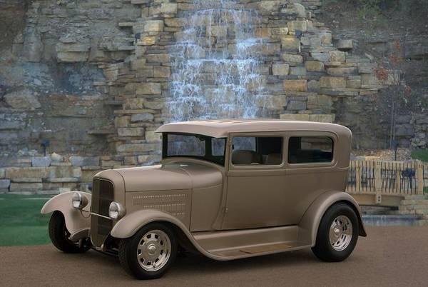 Photograph - 1931 Ford Sedan Custom Hot Rod by Tim McCullough