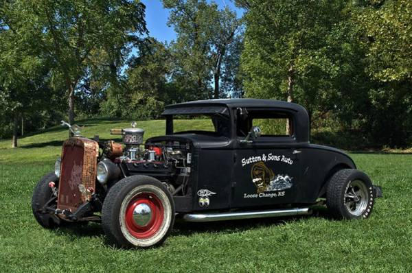 Photograph - 1931 Nash Coupe Hot Rod by Tim McCullough