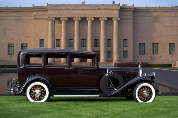 Photograph - 1931 Pierce Arrow Model 43 by Tim McCullough