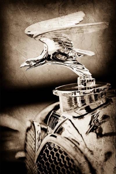 Photograph - 1932 Alvis Hood Ornament - Emblem by Jill Reger