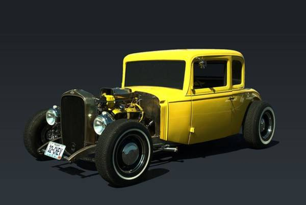 Photograph - 1932 Chevrolet Hot Rod Coupe by Tim McCullough