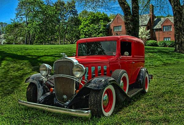 Photograph - 1932 Chevrolet Sedan Delivery Hot Rod by Tim McCullough