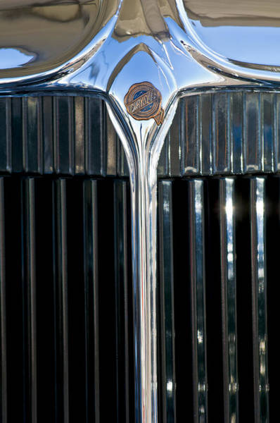 1932 Wall Art - Photograph - 1932 Chrysler Hood Ornament by Jill Reger