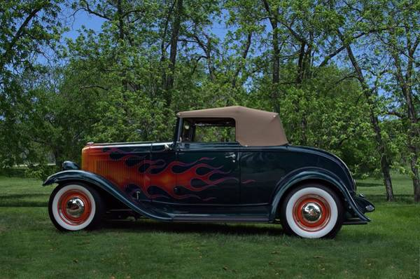 Photograph - 1932 Ford Cabriolet Hot Rod by Tim McCullough