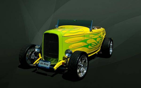 Photograph - 1932 Ford Hi Boy Roadster Hot Rod by Tim McCullough