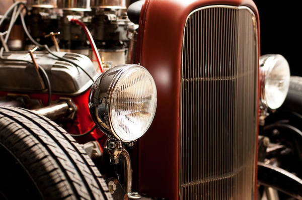 V8 Engine Wall Art - Photograph - 1932 Ford Hotrod by Todd Aaron