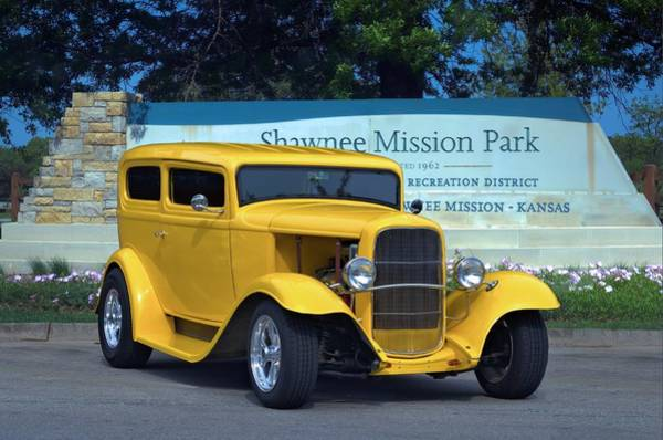 Photograph - 1932 Ford Sedan Hot Rod by Tim McCullough