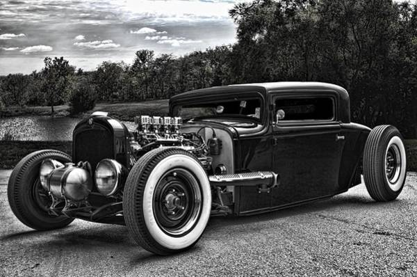 Photograph - 1932 Hupmobile Coupe Hot Rod by Tim McCullough