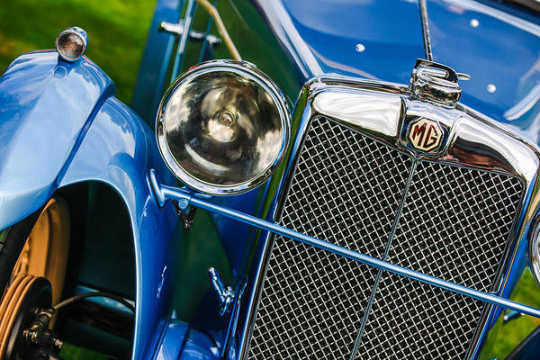 Photograph - 1932 Mg F1 Magna Grille -1363c by Jill Reger