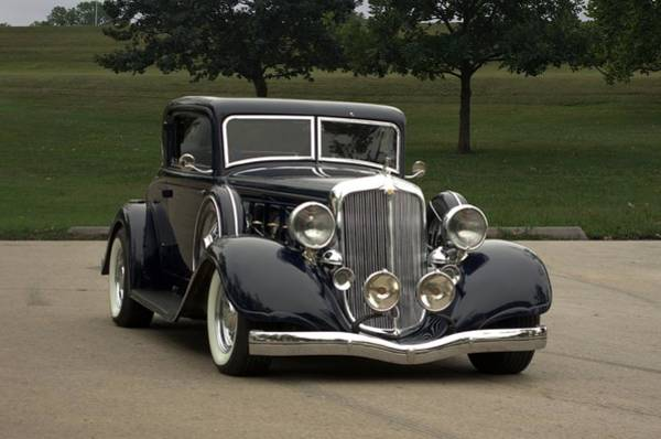 Photograph - 1933 Chrysler Royal 8 by Tim McCullough