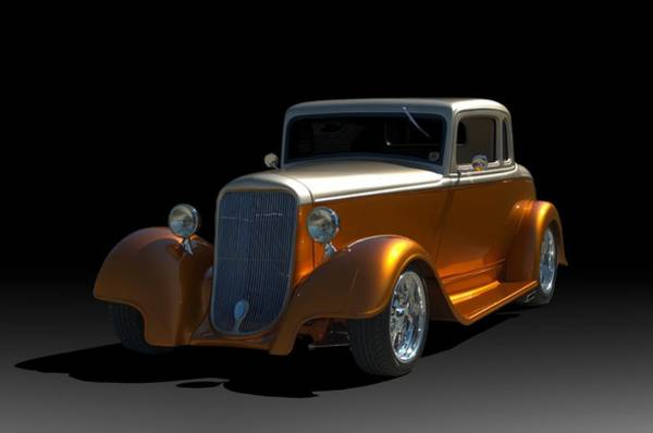 Photograph - 1933 Dodge Brothers Coupe Hot Rod by Tim McCullough