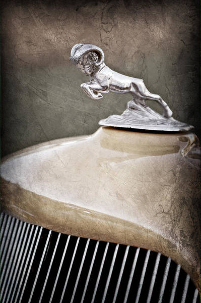 Photograph - 1933 Dodge Ram Hood Ornament - Grille by Jill Reger