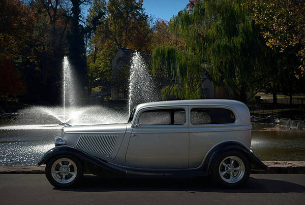 Photograph - 1933 Ford 2dr Sedan Hot Rod by Tim McCullough