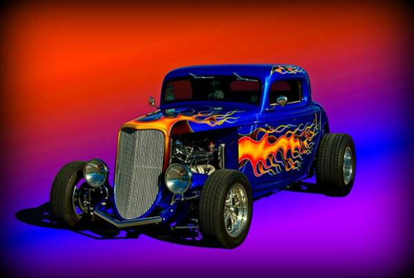 Photograph - 1933 Ford High Boy Hot Rod by Tim McCullough