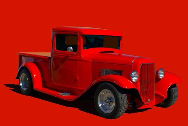 Photograph - 1933 Ford Hot Rod Pickup Truck by Tim McCullough