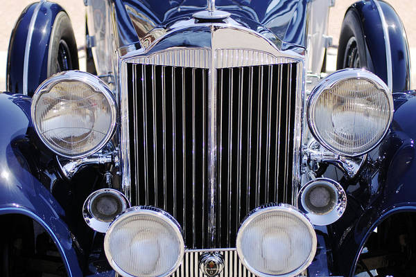 Photograph - 1933 Packard 12 Convertible Coupe Grille by Jill Reger
