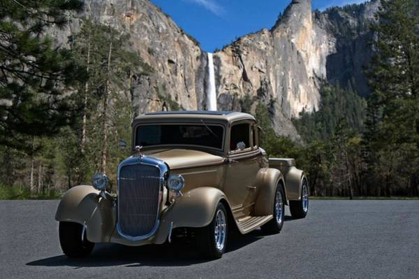 Photograph - 1933 Plymouth Custom Coupe Hot Rod by Tim McCullough