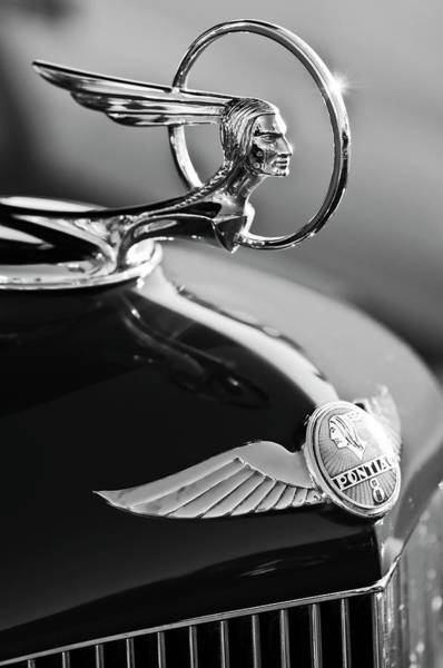 Hoodies Photograph - 1933 Pontiac Hood Ornament 4 by Jill Reger