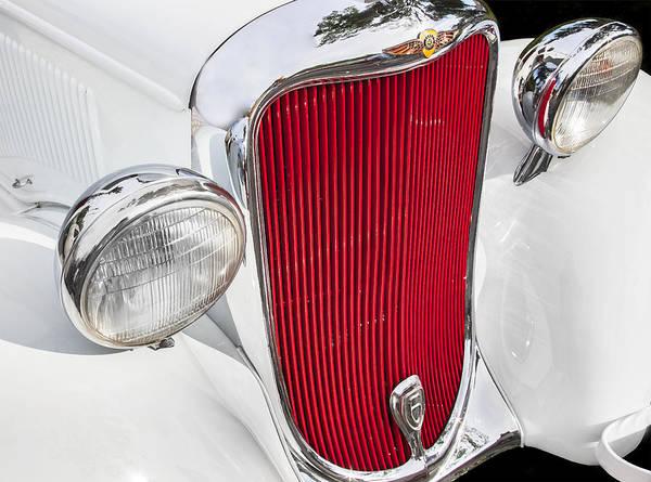 Photograph - 1933 White Dodge Sedan by Rich Franco