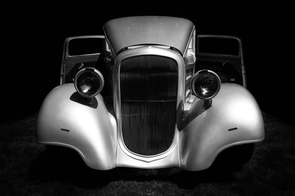 Photograph - 1934 Chevrolet 3 Window Coupe by Ben Shields