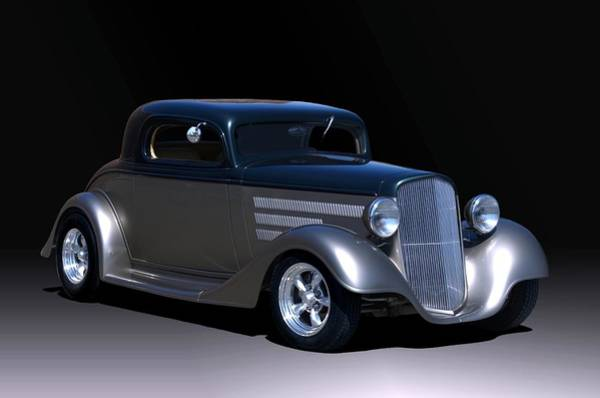 Photograph - 1934 Chevrolet Coupe Hot Rod by Tim McCullough