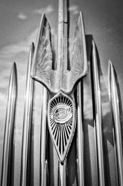Photograph - 1934 Chrysler Air Flow Hood Ornament - Emblem by Jill Reger
