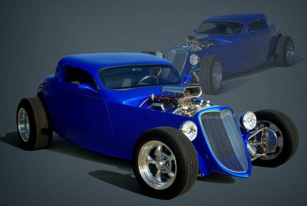 Photograph - 1934 Ford Custom Hot Rod by Tim McCullough