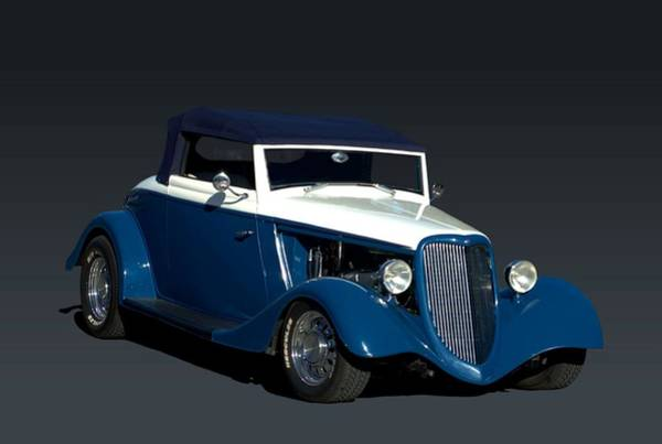Photograph - 1934 Ford Roadster Hot Rod by Tim McCullough