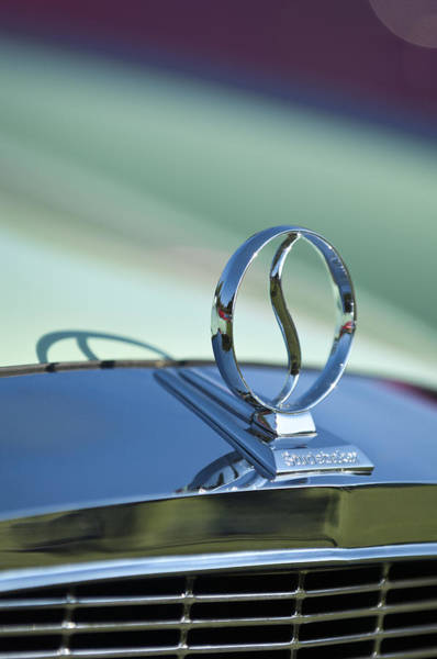 Wall Art - Photograph - 1934 Studebaker Hood Ornament by Jill Reger