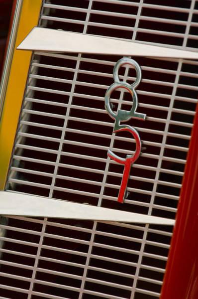 Cabriolet Photograph - 1935 Auburn 851 Cabriolet Grille Emblem by Jill Reger
