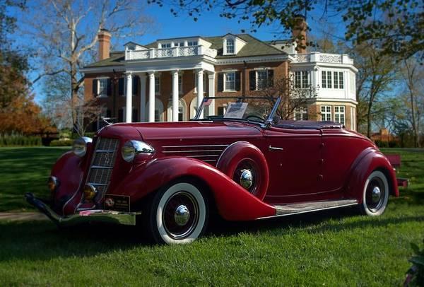 Photograph - 1935 Auburn 851  by Tim McCullough
