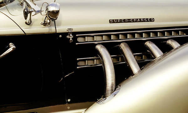 Photograph - 1935 Auburn Boat Tailed Speedsr by Wes Jimerson