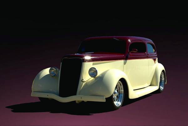 Photograph - 1935 Ford Sedan Hot Rod by Tim McCullough