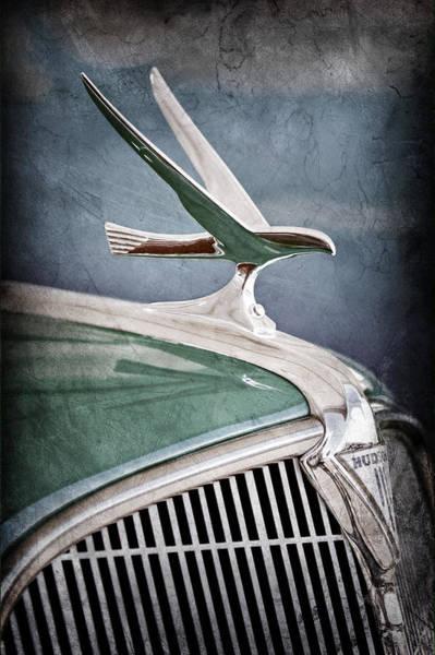 Photograph - 1935 Hudson Touring Sedan Hoodc Ornament by Jill Reger