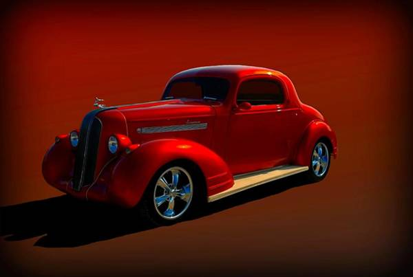 Photograph - 1935 Pontiac Hot Rod Coupe by Tim McCullough