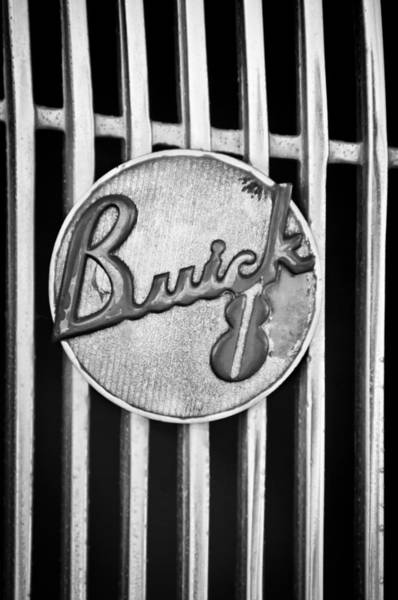 Photograph - 1936 Buick 8 Emblem by Jill Reger