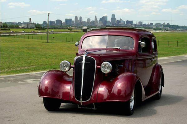 Photograph - 1936 Chevrolet Sedan Hot Rod by Tim McCullough